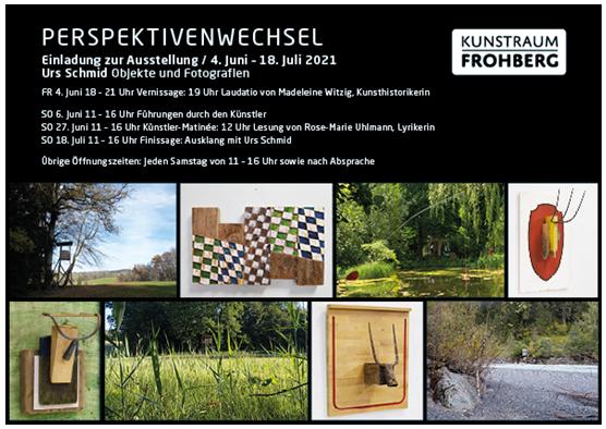 Perspektivenwechsel im Kunstraum Frohberg